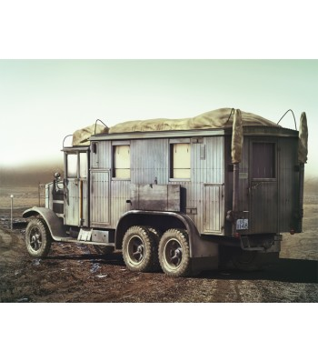 1:35 Krupp L3H163 Kfz.72, WWII German Radio Communication Truck
