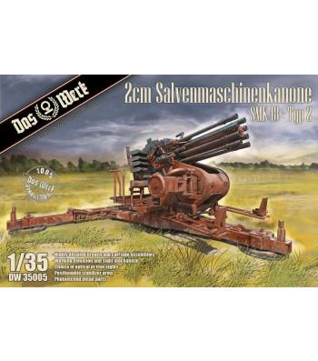 1:35 2cm Salvenmaschinenkanone SMK 18 Typ 2