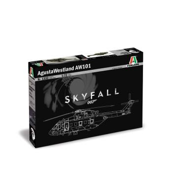 1:72 AgustaWestland AW-101 ''SKYFALL'' 007 movie