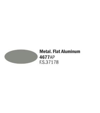 Flat Aluminum - Acrylic Paint (20 ml)