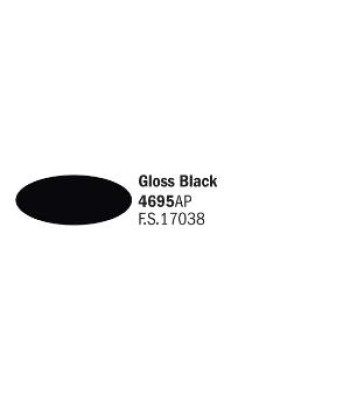 Gloss Black - Acrylic Paint (20 ml)