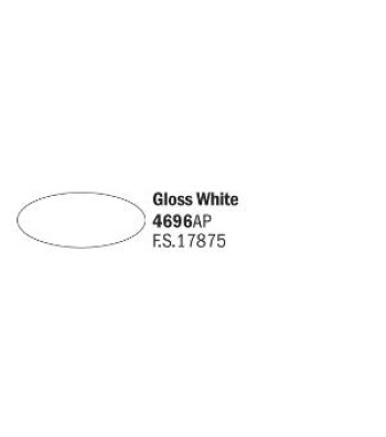 Gloss White - Acrylic Paint (20 ml)