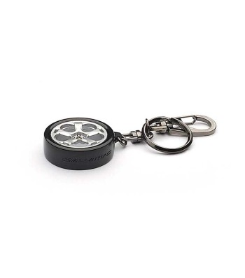KEYRING - LAMBORGHINI GALLARDO BLACK WHEEL