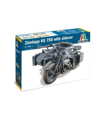 1:9 ZUNDAPP KS 750 with Side Car