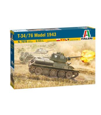 1:72 T-34/76 Mod.43
