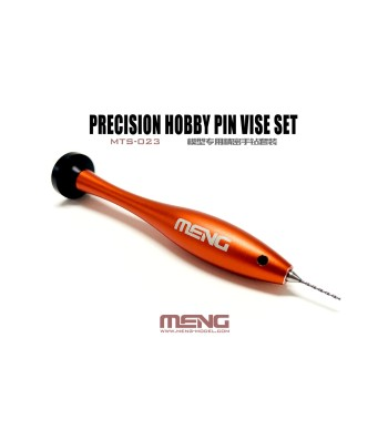 MTS-023 Hobby Pin Vise Set with 10 drill bits (0.4-1.3mm)