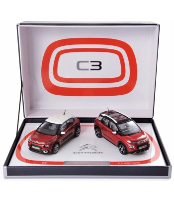 Coffret Citroen C3 & C3 Aircross 2017 - L.E. 500 pcs (2 cars)