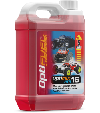 OptiFuel Optimix RTR 16% Nitro Nitro Car Fuel, 5 L