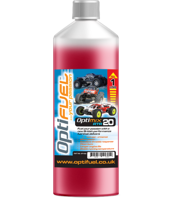 OptiFuel Optimix RTR 20% Nitro Car Fue, 1 L