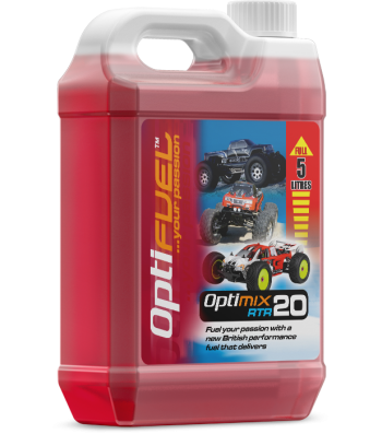 OptiFuel Optimix RTR 20% Nitro Car Fue, 5 L