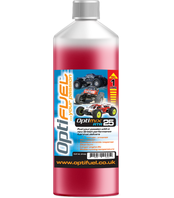 OptiFuel Optimix RTR 25% Nitro Car Fue, 1 L