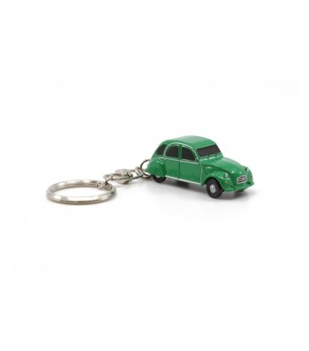 KEY CHAIN CITROEN 2CV6 GREEN