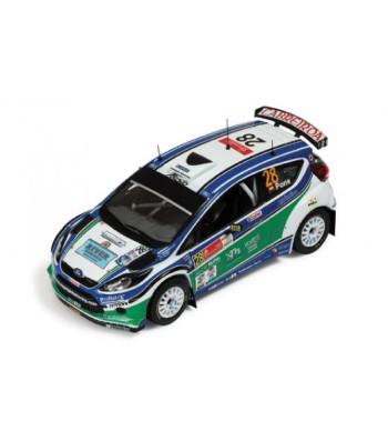 Ford Fiesta S2000 #28 A.Haro-X.Pons 8th Corona Mexico Rally 2010 (S-WRC Winner)