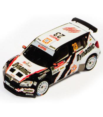 SKODA FABIA S2000 #23 M. Kociuszko - M. Szczepaniak 3rd S-WRC Vodafone Rally Portugal 2010