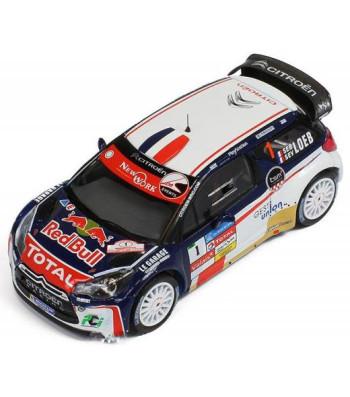 CITROEN DS3 WRC Rally Chablais'13 #1 winner S.Loeb / S.Loeb