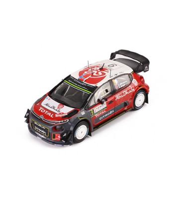 Citroen C3 WRC, No.9, Rallye WM, Rallye Sardinien A.Mikkelsen/A.Jaeger, 2017