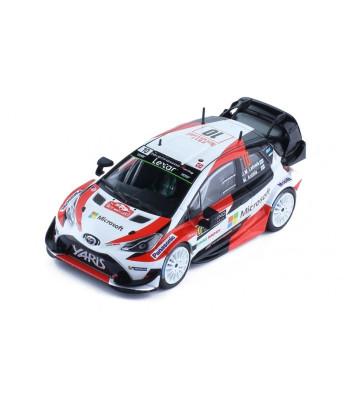 Toyota Yaris WRC, No.10, Microsoft, Rallye WM, Rallye Monte Carlo, J.M.Latvalla/M.Anttila, 2017
