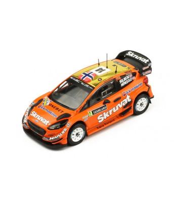 Ford Fiesta WRC, No.14, Rallye WM, Rallye Sweden, H.Solberg/C.Menkerud, 2018