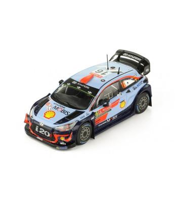 Hyundai i20 WRC, No.16, Rallye WM, Rallye Portugal D.Sordo/C.Del Barrio, 2018