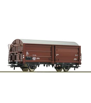 Sidling wall wagon, DSB, epoch IV