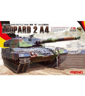1:35 GERMAN MAIN BATTLE TANK LEOPARD 2 A4