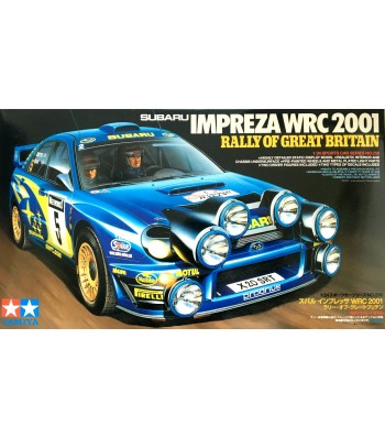 1:24 Subaru Impreza WRC 2001 - Rally of Great Britain