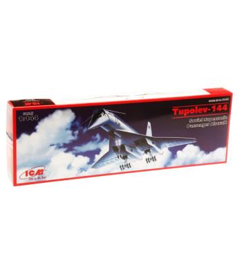 1:144 Tupolev-144 Soviet Supersonic Passenger Aircraft