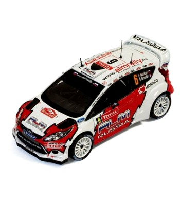 FORD Fiesta RS WRC #6  D.Giraudet-E.Novikov Rally Monte Carlo 2012