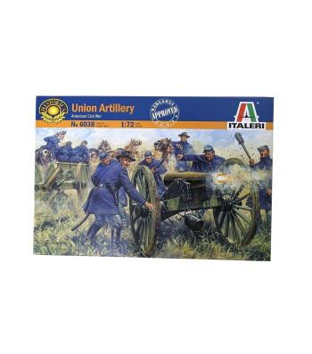 1:72 AMERICAN CIVIL WAR: UNION ARTILLERY - 21 figures