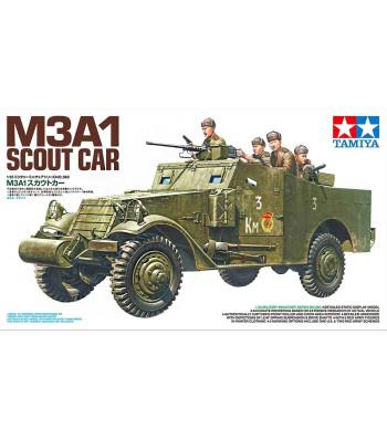 1:35 M3A1 Scout Car - 5 figures