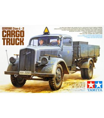 1:35 German 3ton 4x2 Cargo Truck - 2 figures