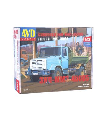 ZIL-MMZ-45085 dump truck - Die-cast Model kit