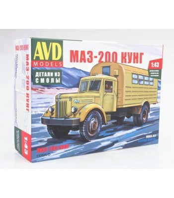 MAZ-200 kung - Die-cast Model Kit