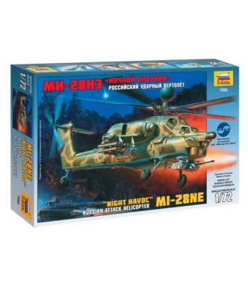 """1:72 Mil MI-28N Russian Attack Helicopter """"Havoc"""""""