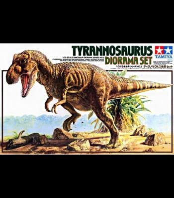 1:35 Tyrannosaurus Diorama