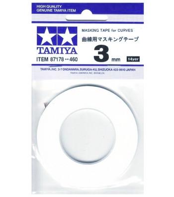 Masking Tape for Curves (3mm width x 20 m length)