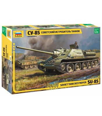 1:35 SU-85 SELF PROPELLED GUN