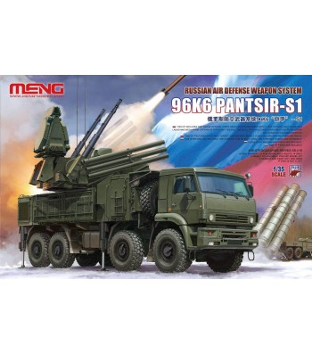1:35 Russian Air Defense Weapon System 96K6 PANTSIR-S1