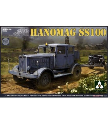 1:35 WWII German Tractor Hanomag SS100