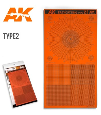 AK8057 Easycutting type 2 - Modelling tool