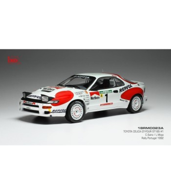 Toyota Celica GT-Four ST185, No.1, Rallye du Portugal 1992 Sainz Moya