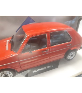 VOLKSWAGEN GOLF L 1983 RED MARS - DAMAGED