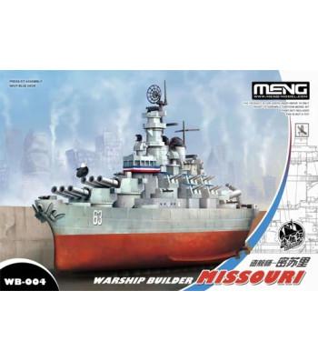 Warship builder Missouri