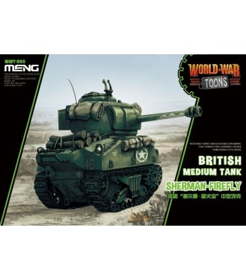 World War Toons Sherman-Firefly