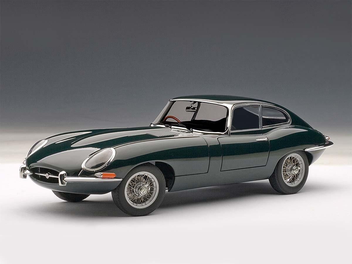 Jaguar E Type >> Jaguar E Type Coupe Series I 3 8 Green Metal Wire Spoke