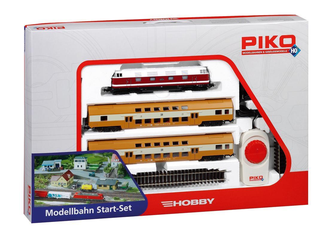 Epoche IV 2 Doppelstockwagen der DR H0 PIKO 57135 Start-Set BR 118