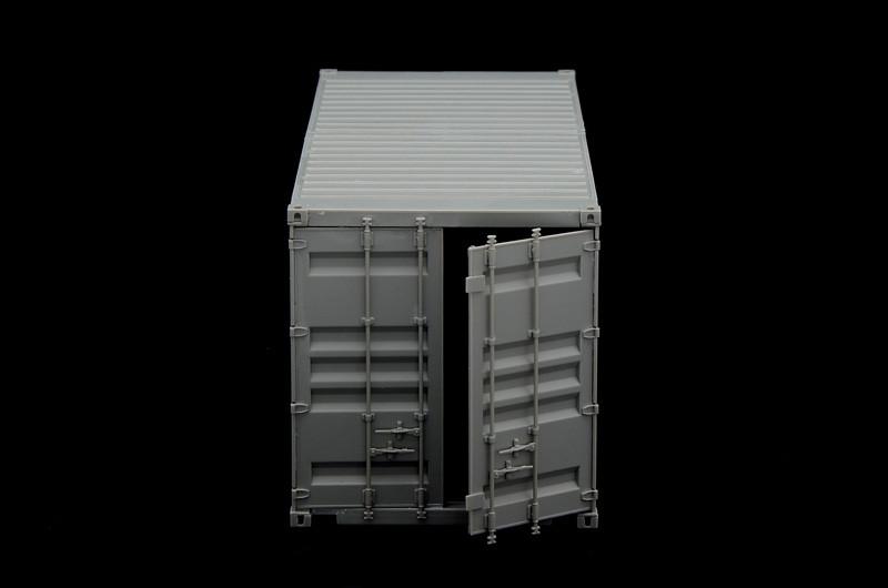 "Italeri 1//35 scale 20 /""SHIPPING CONTAINER Model Kit ITA6516"