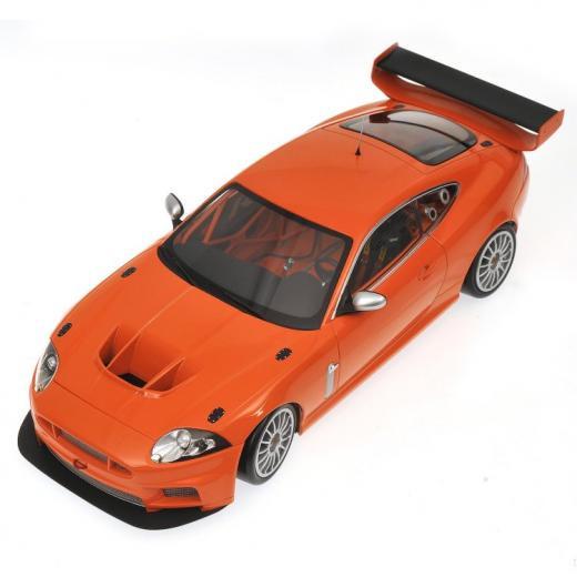 JAGUAR XKR GT3 - 2008 - ORANGE - Diecast Auto Models
