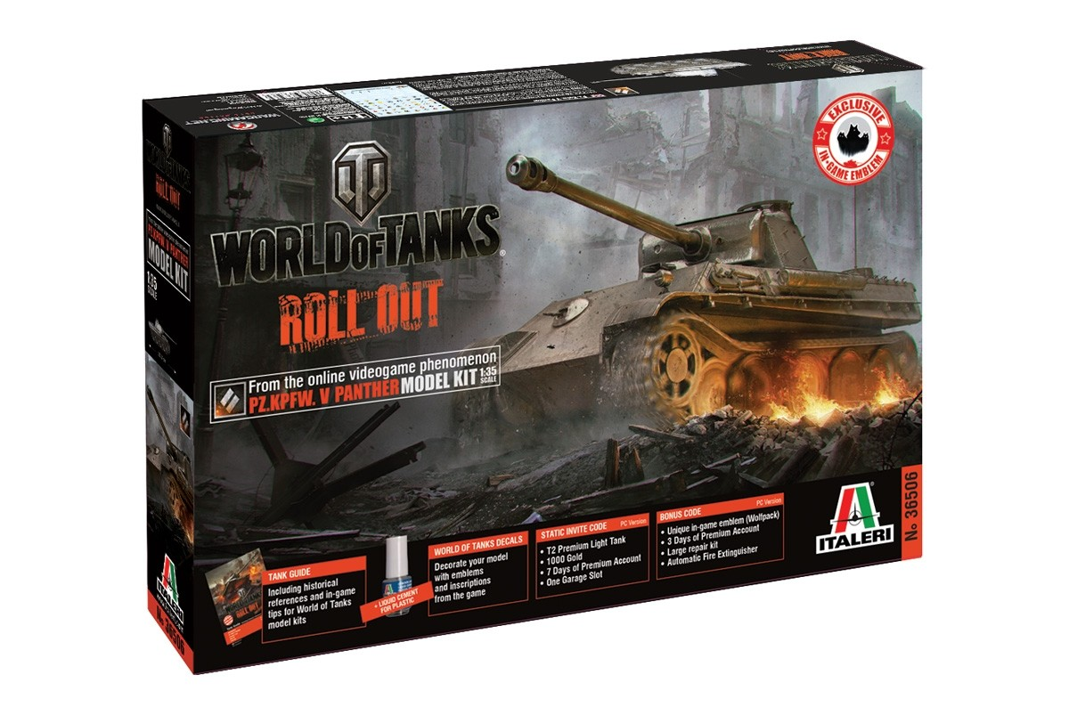 1:35 PANTHER Ausf  G - World of Tanks