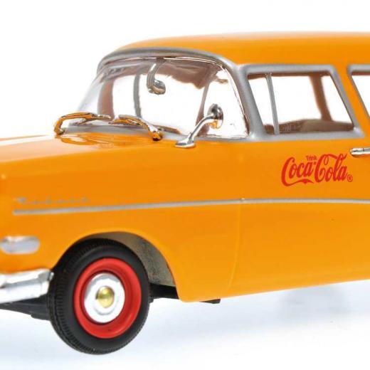 Minichamps 1:43 Opel Rekord p1 1958 coca cola